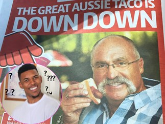 "SHUT IT DOWN: Coles are trying to rebrand the humble sausage sanga as an ""Aussie Taco"""