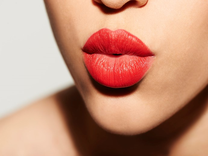 This lipstick helps to protect against cold sores
