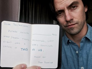 Milo Ventimiglia reckons you'll need a day off after you watch tonight's emosh 'This Is Us'