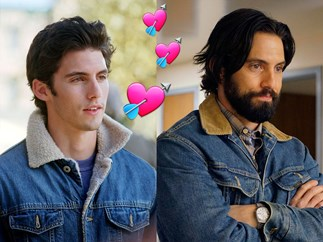 It's time we stop and take a moment to appreciate Milo Ventimiglia's insane glow up