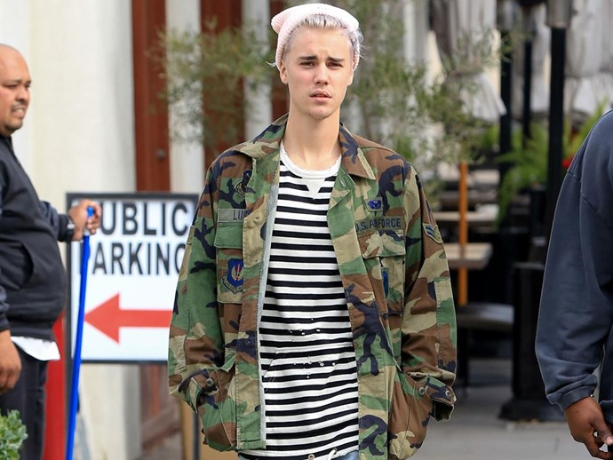 SPOTTED: Justin Bieber taking his famous girlfriend on THE weirdest date