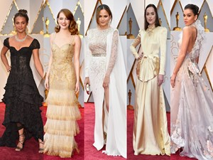 Oscars 2017, All looks from the Academy Awards red carpet