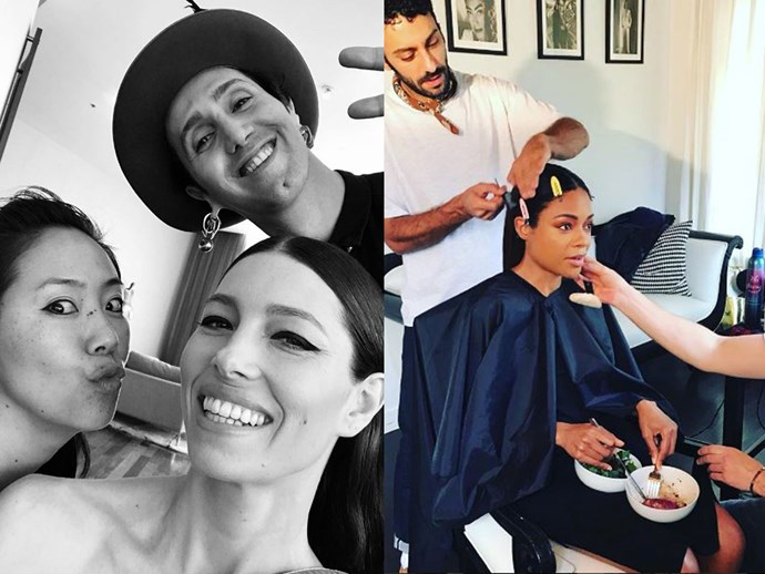 OSCARS 2017: All of the best behind-the-scenes Instagram moments