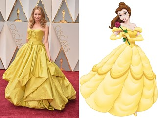 Oscars red carpet Disney