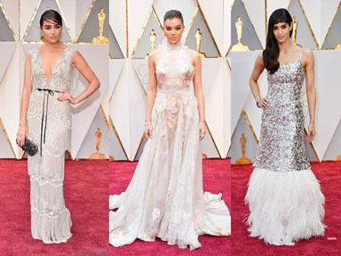 Pretty AF wedding dress inspo from the Oscars red carpet