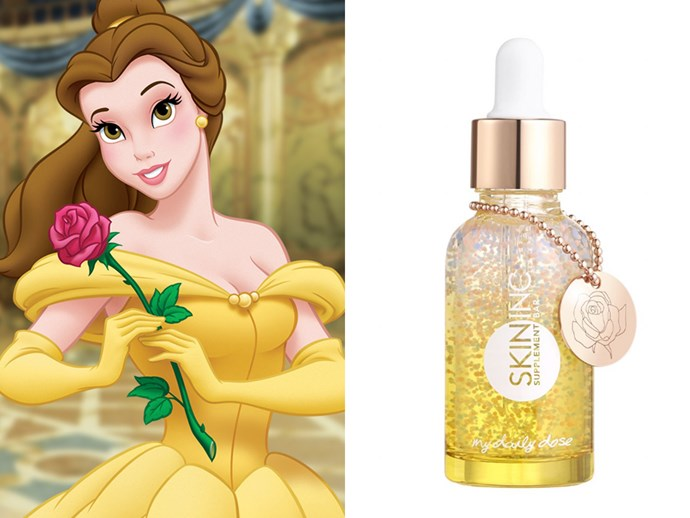 There's now a Beauty and the Beast face serum and we have zero chill