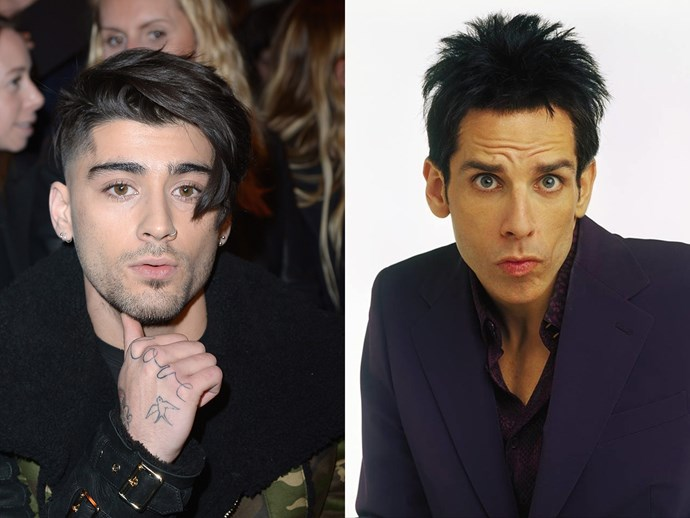 WHAT is going on with Zayn Malik's hair?