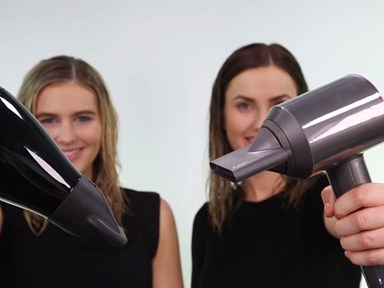 HAIR DRYER FACE OFF: Which hair dryer works the fastest?
