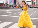 I wore the Beauty and the Beast Belle dress around New York City for a day