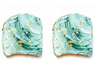 Prepare to be obsessed with mermaid toast