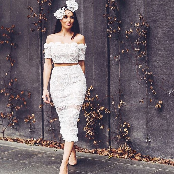 Snez has proven before that she prefers fitted outfits. We're sure her wedding dress will follow suit.