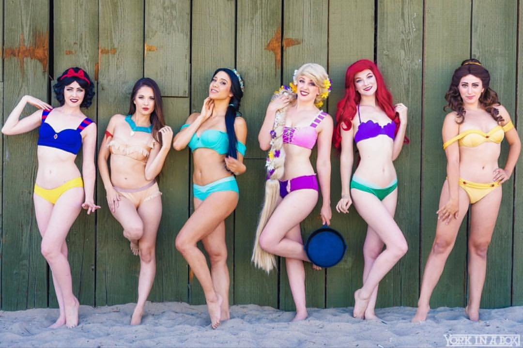 Disney Princess-inspired bikinis are a hot item