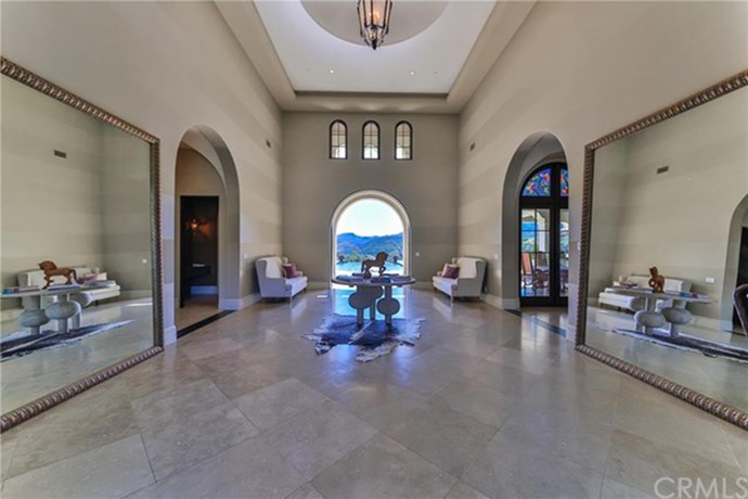 Not to mention the ginormous foyer that literally looks out on to paradise.