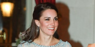 Kate Middleton is straight up channeling Princess Elsa in this divine gown