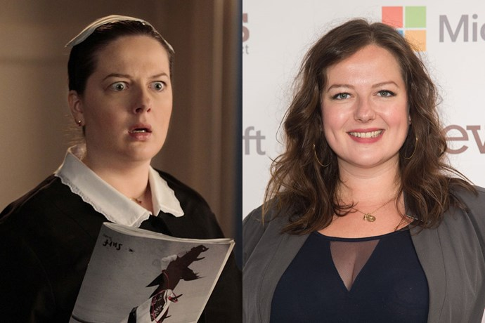 When Dorota from *Gossip Girl*, played by Zuzanna Szadkowski, lets her hair down, she looks super different!
