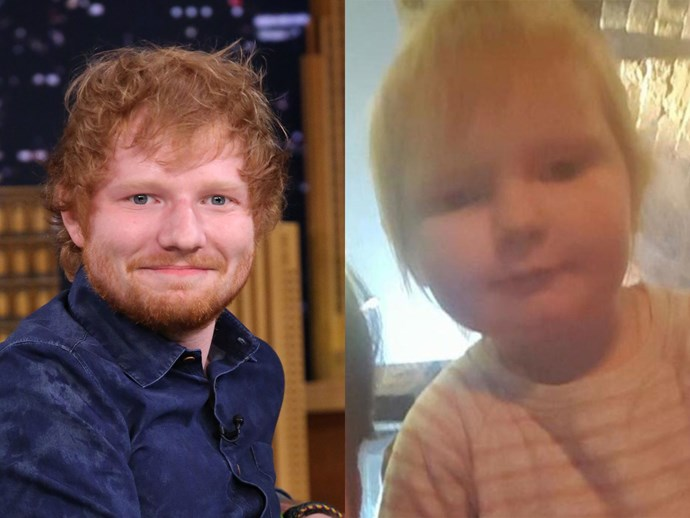 Ed Sheeran baby girl doppelganger Isla Walton