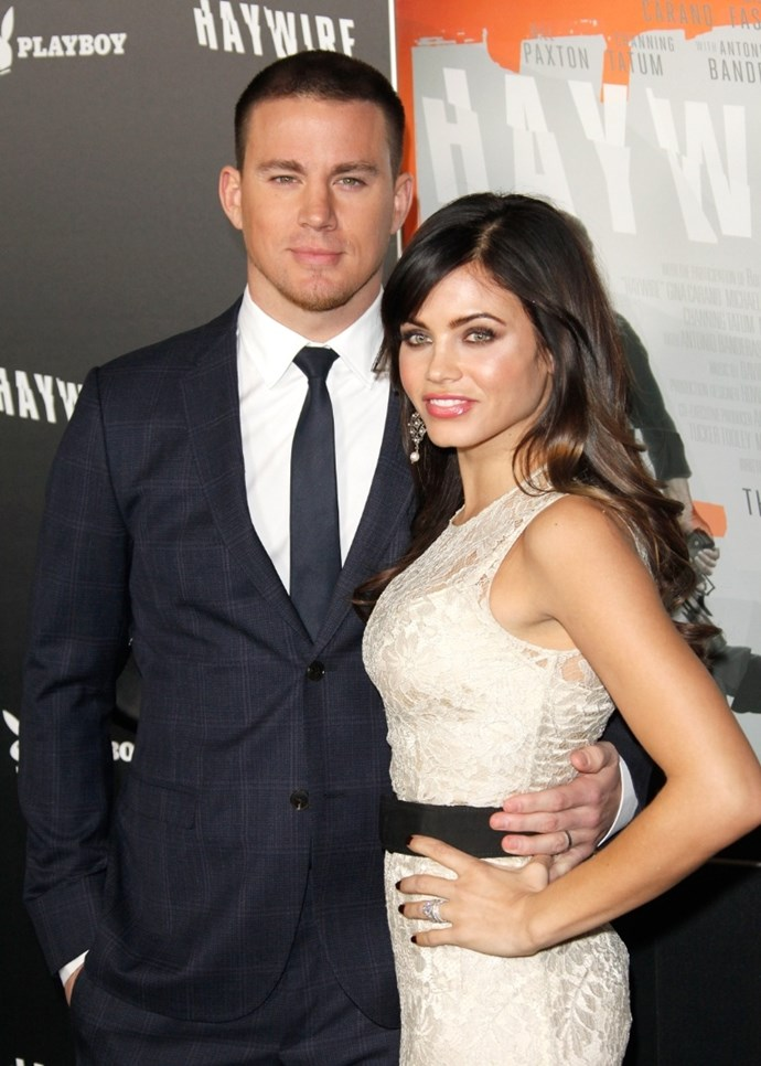 **January 2012**  You guessed it, the couple kicked off the new year with yet another public appearance on a red carpet - this time at the *Haywire* premiere.