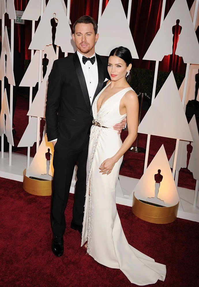 **February 2015**  This time round they're at the Oscars, and this is potentially our favourite red carpet look of the lot.