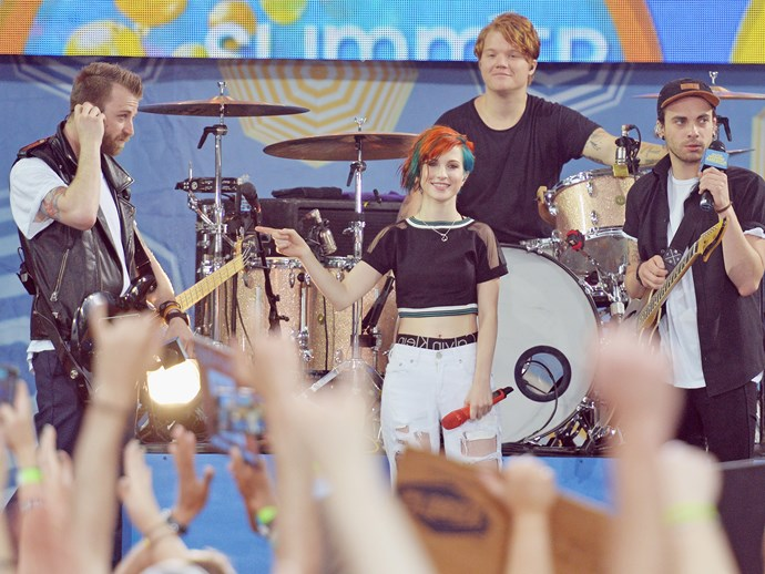 Any fan of the band Paramore is called a **Parawhore.**