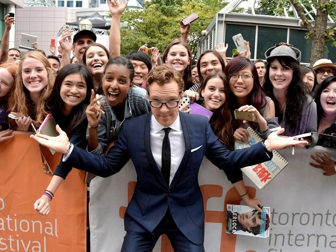 Into Benedict Cumberbatch? That makes you a **Cumberbitch.**