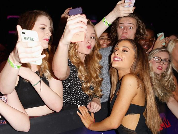 Ariana Grande fans are named **Arianators**.