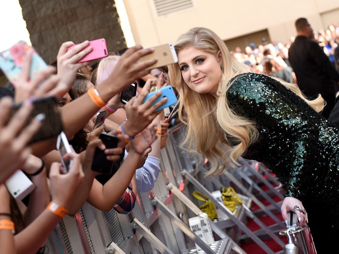 Transformers, more than meets the eye! Meghan Trainor fans are called **Megatronz!**