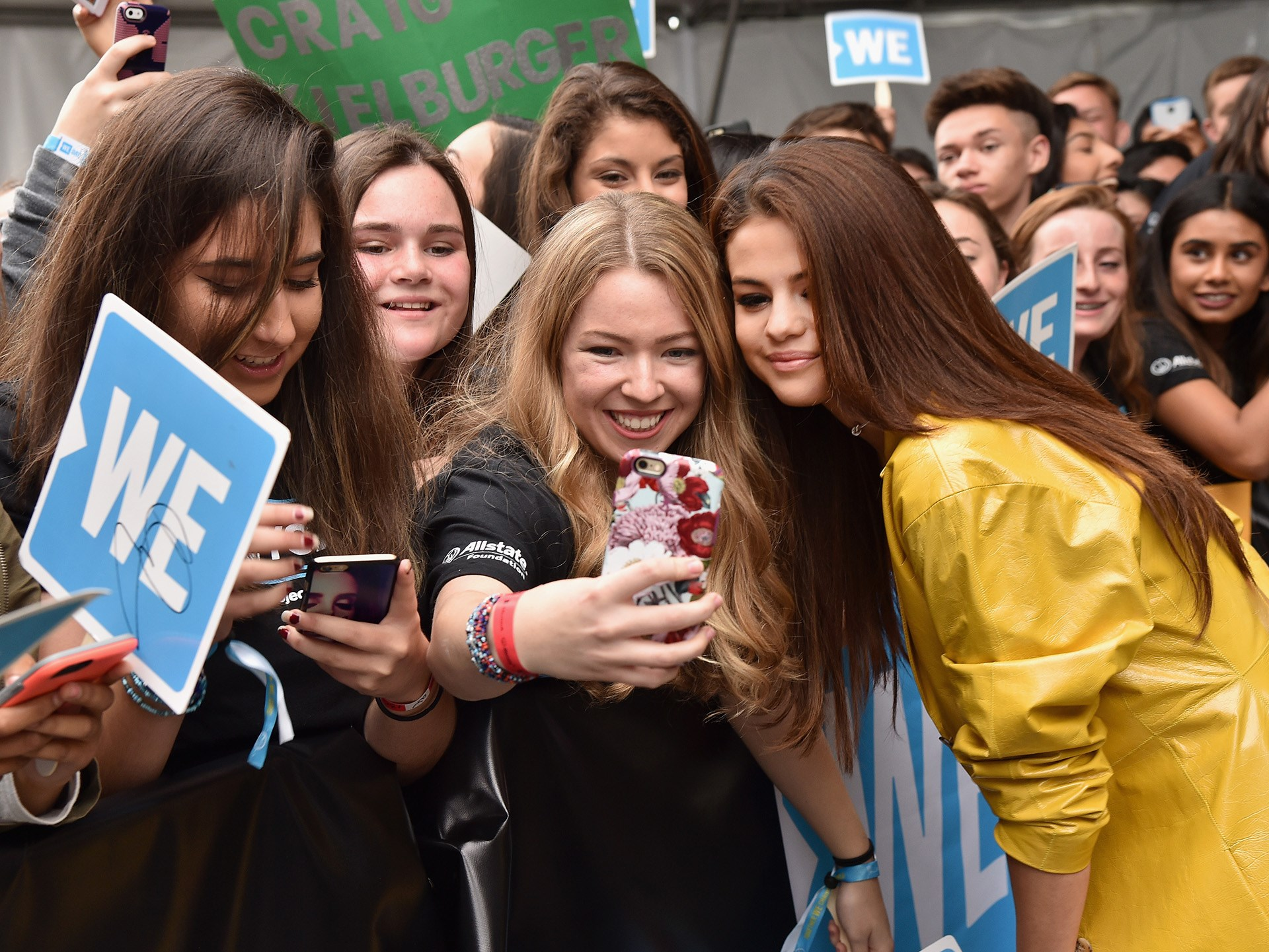Selena Gomez's fans called themselves **Selenators.**