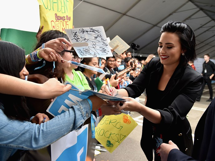 Fans of Demi Lovato are named the **Lovatics**.