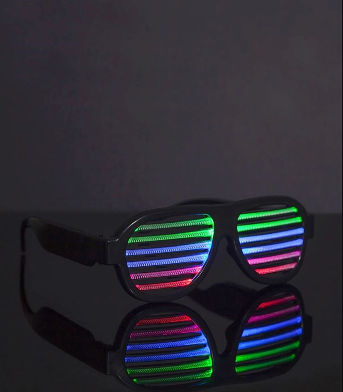 """If anyone is still seriously considering having anything to do with Kanye West's early-noughties shaded shades, you can show yourself out. These light-up ops by [Forever 21](http://www.forever21.com/Product/Product.aspx?BR=f21&Category=acc&ProductID=1000268938&VariantID= target=""""_blank"""") need to die."""