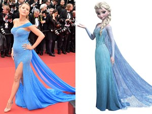 Times celebrities dressed like Disney princesses
