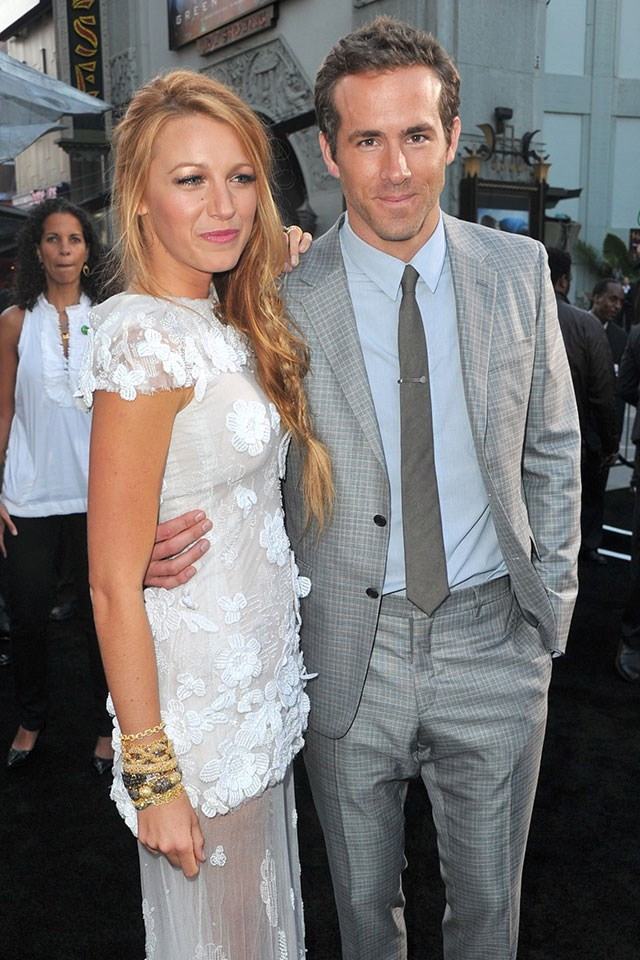 **Blake Lively and Ryan Reynolds**  At the premiere of *Green Lantern* in June 2011.