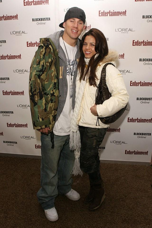 **Channing Tatum and Jenna Dewan-Tatum**  At the Sundance Film Festival in January 2006.