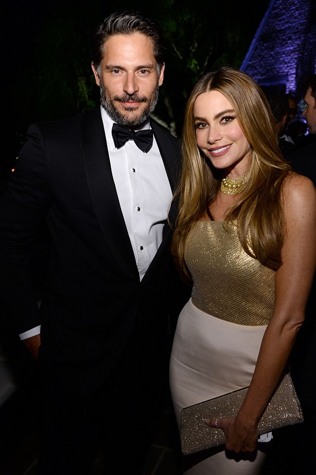 **Joe Manganiello and Sofia Vergara**  At the *Vanity Fair* Oscars party in March 2014.
