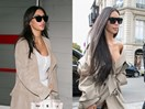 What 13 celebrities look like with and without their insane hair extensions