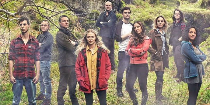 Reality show contestants spend a year in the wild, emerge to find out the show was cancelled