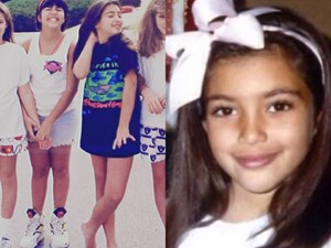 Kardashian Jenner sisters before they were famous