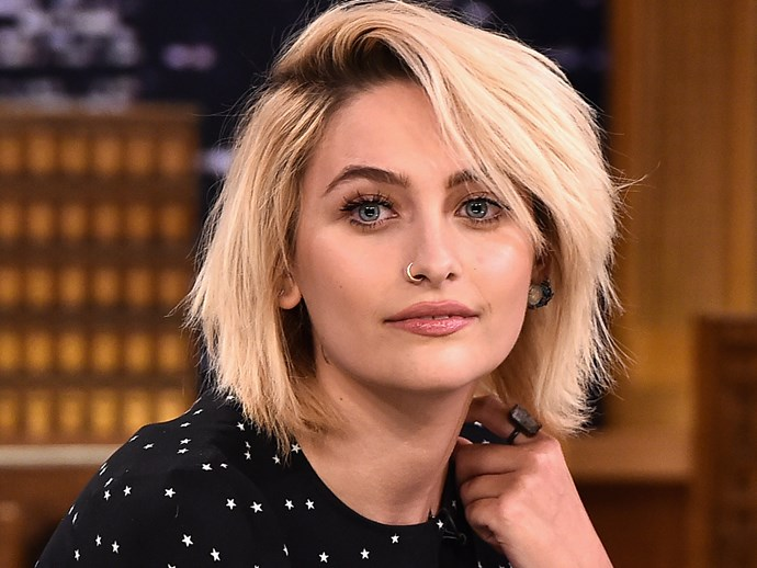 People are having a go at Paris Jackson for having armpit hair and give us a break already