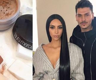 Kim Kardashian Makeup Artist Powder Trick