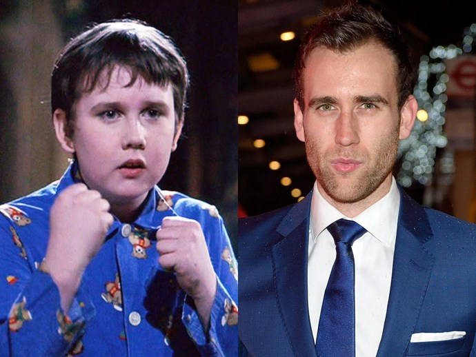 Matthew Lewis then and now.