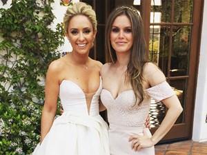 Gorgeous celebrity bridesmaid pictures