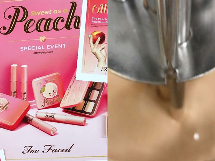 Everything you need to know about the new Too Faced Sweet Peach products