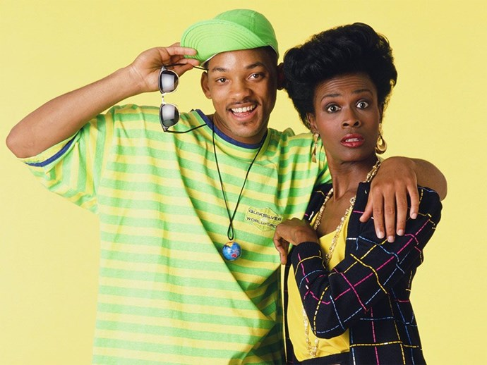 Will and Aunt Viv on Fresh Prince of Bel Air.