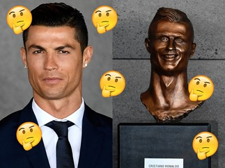 The sculptor of Cristiano Ronaldo's statue has defended his (confusing) work