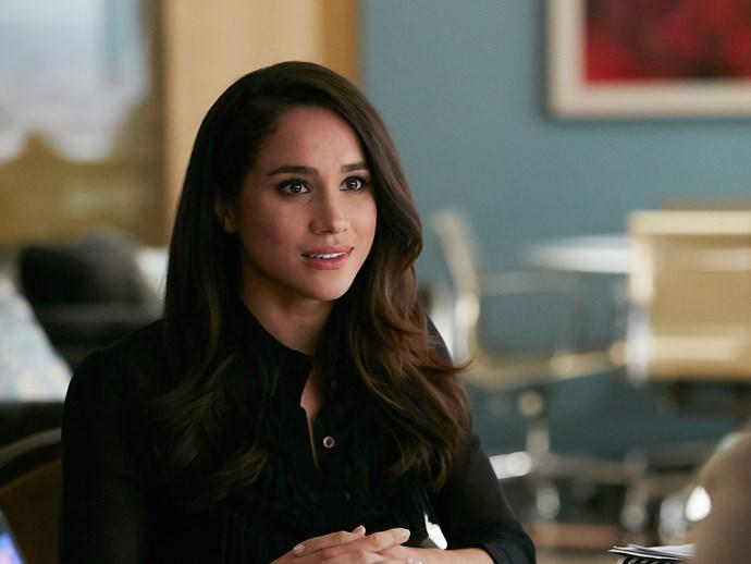Rachel on Suits
