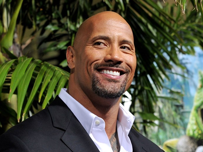 THIS JUST IN: The Rock explains why he's totally bald