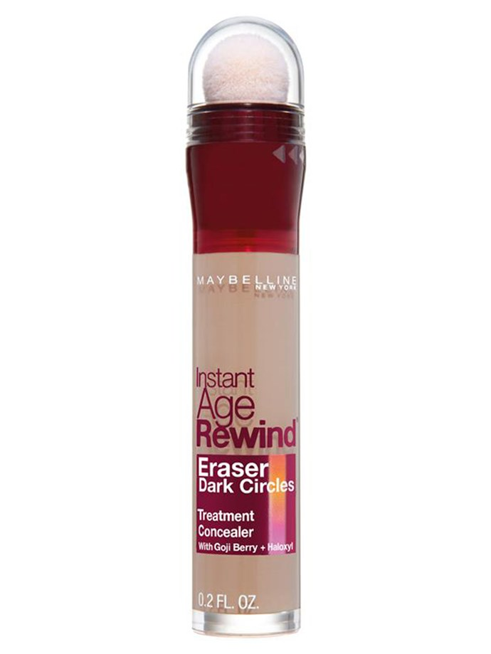 "**The top seller at Priceline**  Maybelline Instant Age Rewind Eraser Concealer, $18.95, at [Priceline](https://www.priceline.com.au/maybelline-instant-age-rewind-eraser-concealer-5-9-ml|target=""_blank""