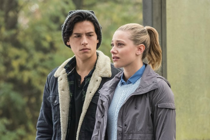 riverdale cole sprouse betty jughead