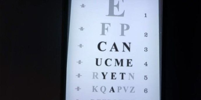 **Eye doctor infiltration**  Again, how?