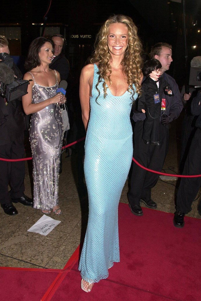**Elle Macpherson** brought some ~glamour~ in 2000.