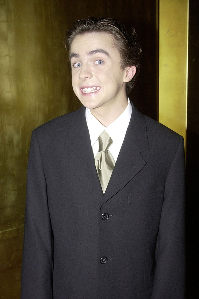 A super young **Frankie Muniz** was there in 2002.